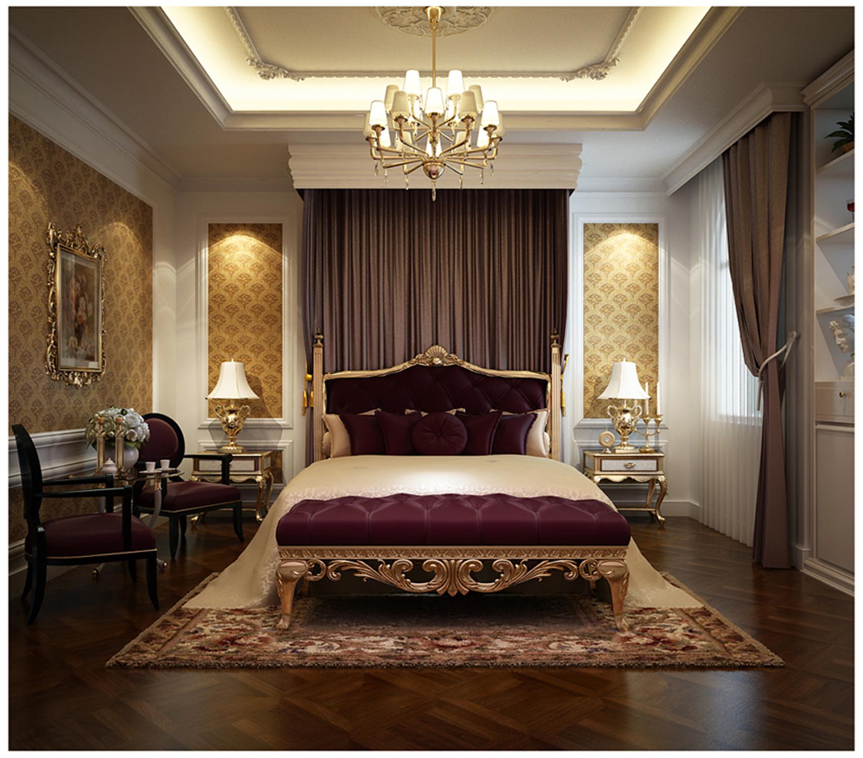 Thiết kế nội thất chung cư Green Star 145m2