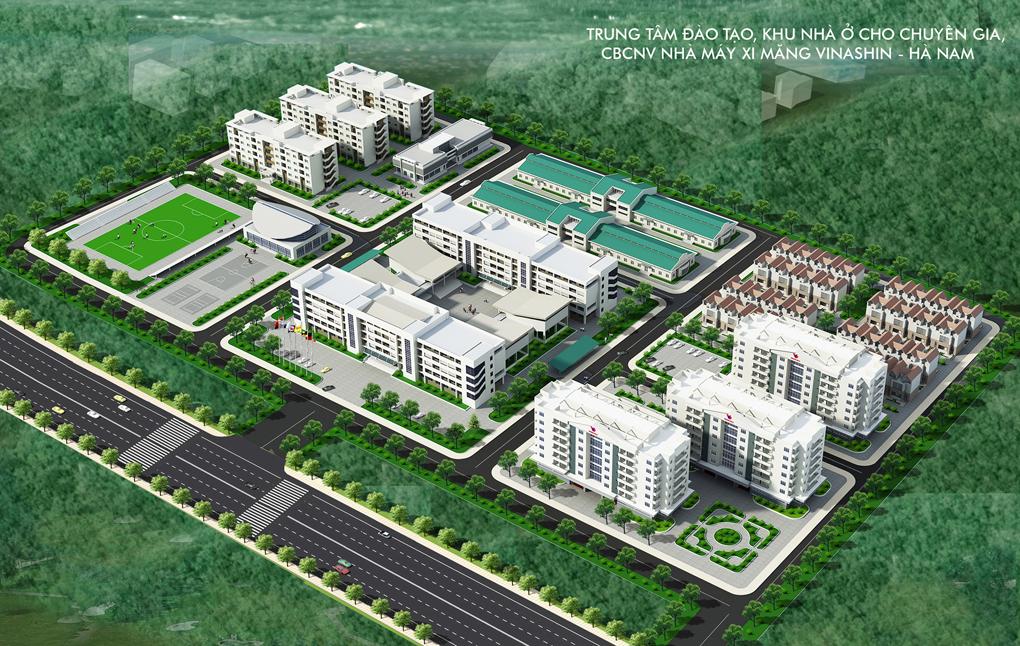Trung tâm đào tạo chuyển giao công nghệ vinashin Hà Nam